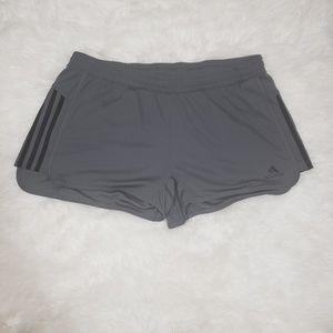 NWT Adidas Ultimate Knit Grey Training Shorts
